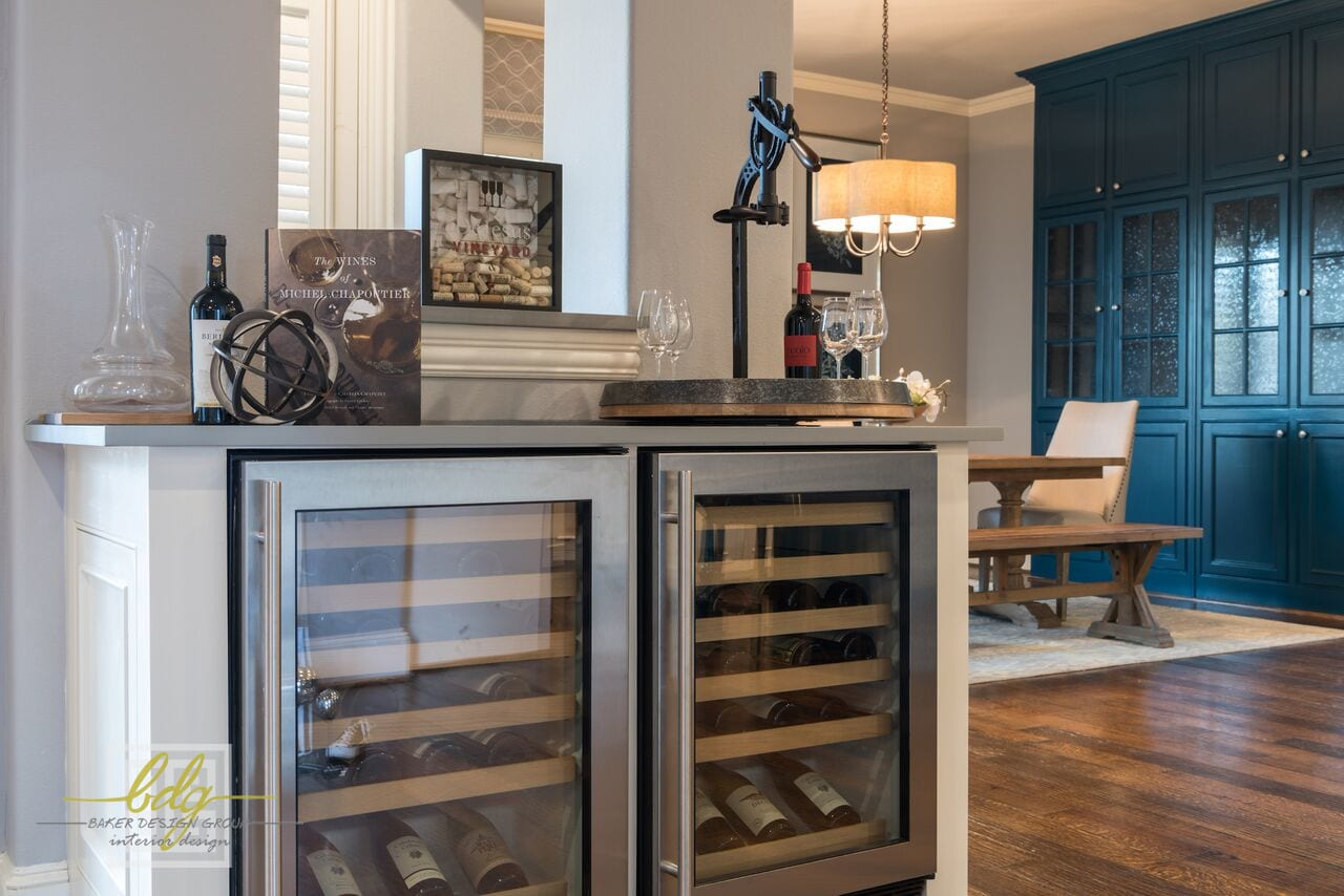 Baker Design Group - Heavy Traditional to Light, Bright, Coastal Design: Transformation Tuesday
