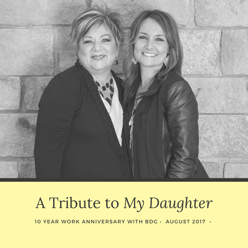 Baker Design Group - A Tribute to My Daughter: 10 Years with BDG